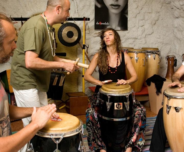 curso de percusión afrolatina