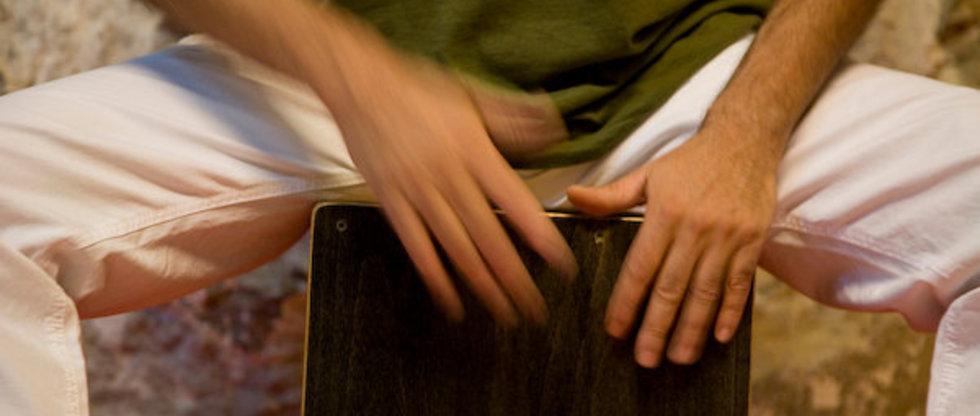 taller de percusión en la naturaleza, cursos de fin de semana